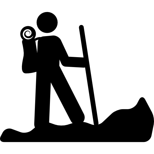 hiking-person-silhouette-with-a-stick