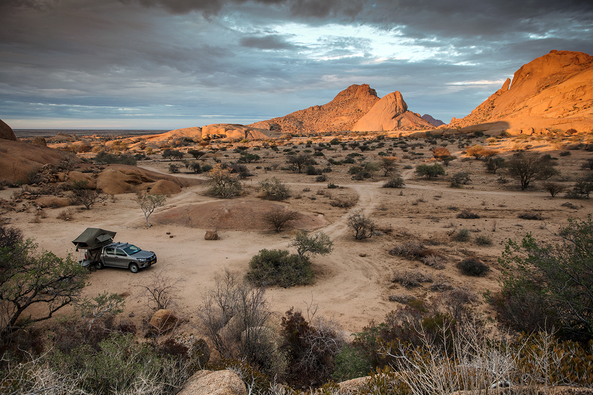 camping-spitzkoppe-namibie