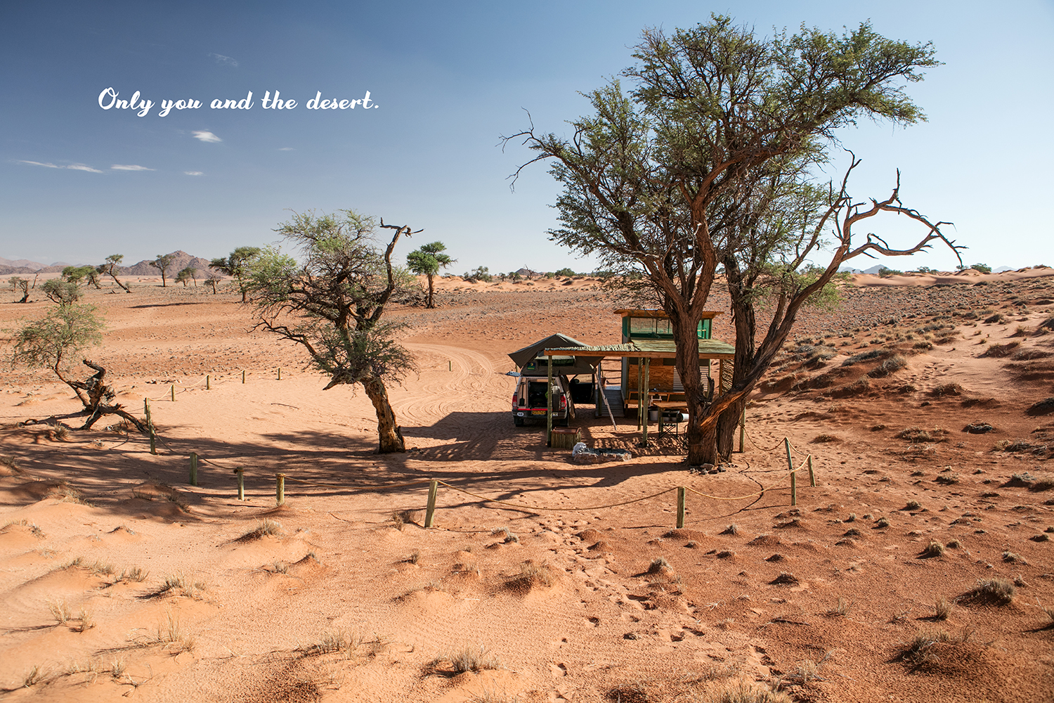 only you and the desert namibie