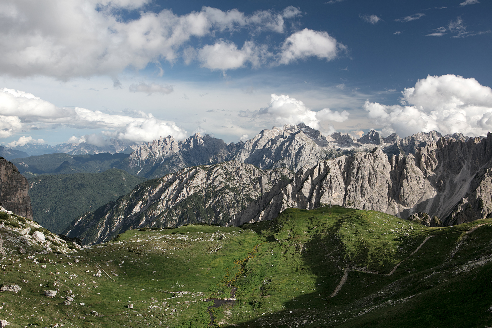 paysage dolomites