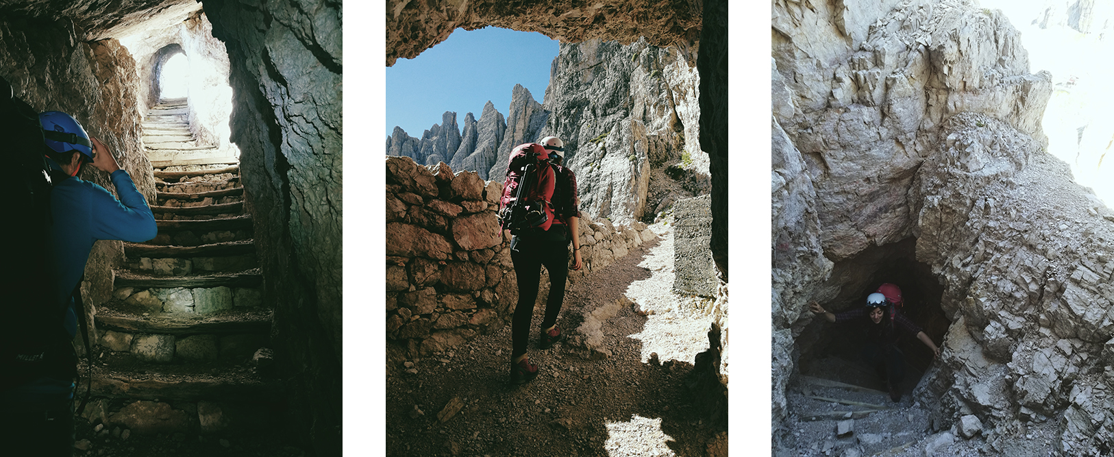 tunnels dolomites
