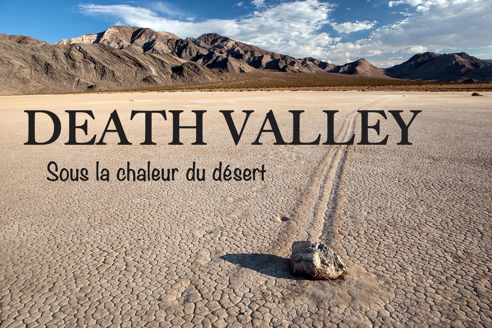 visiter la vallée de la mort en californie