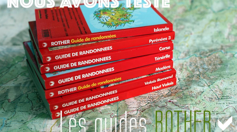 Les guides de randonnées ROTHER