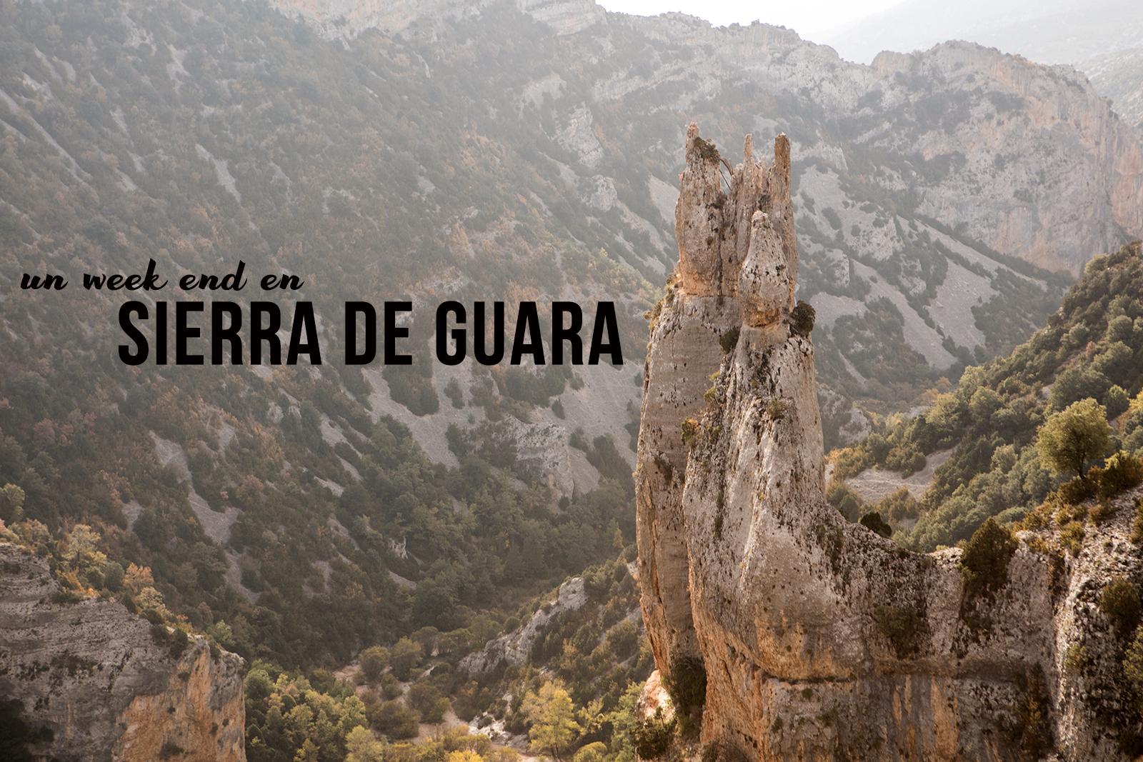 Sierra de Guara randonnées