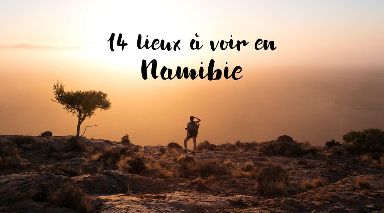 14 lieux à voir en Namibie