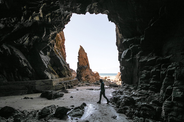 Grotte à Plémont Beach, Jersey