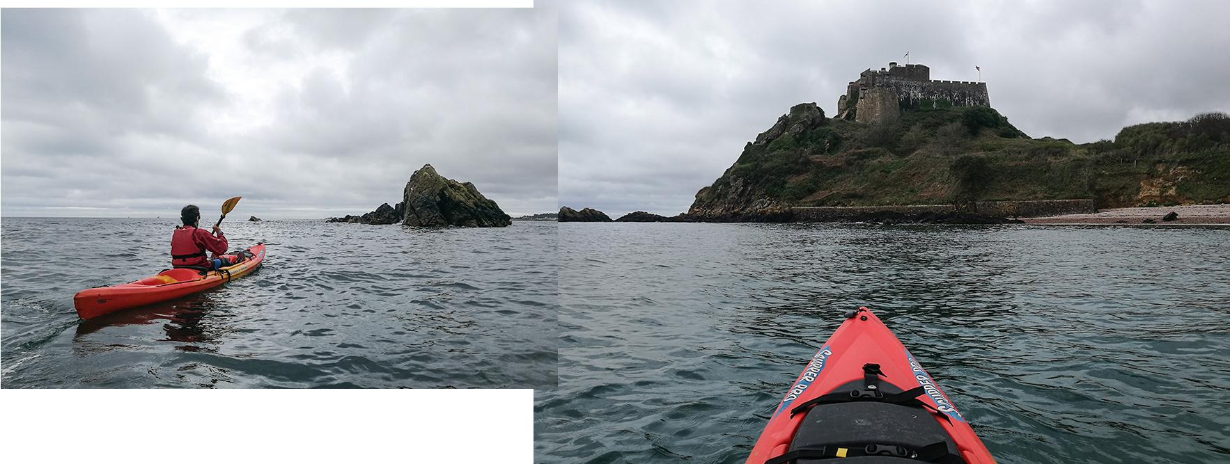 Kayak à Jersey