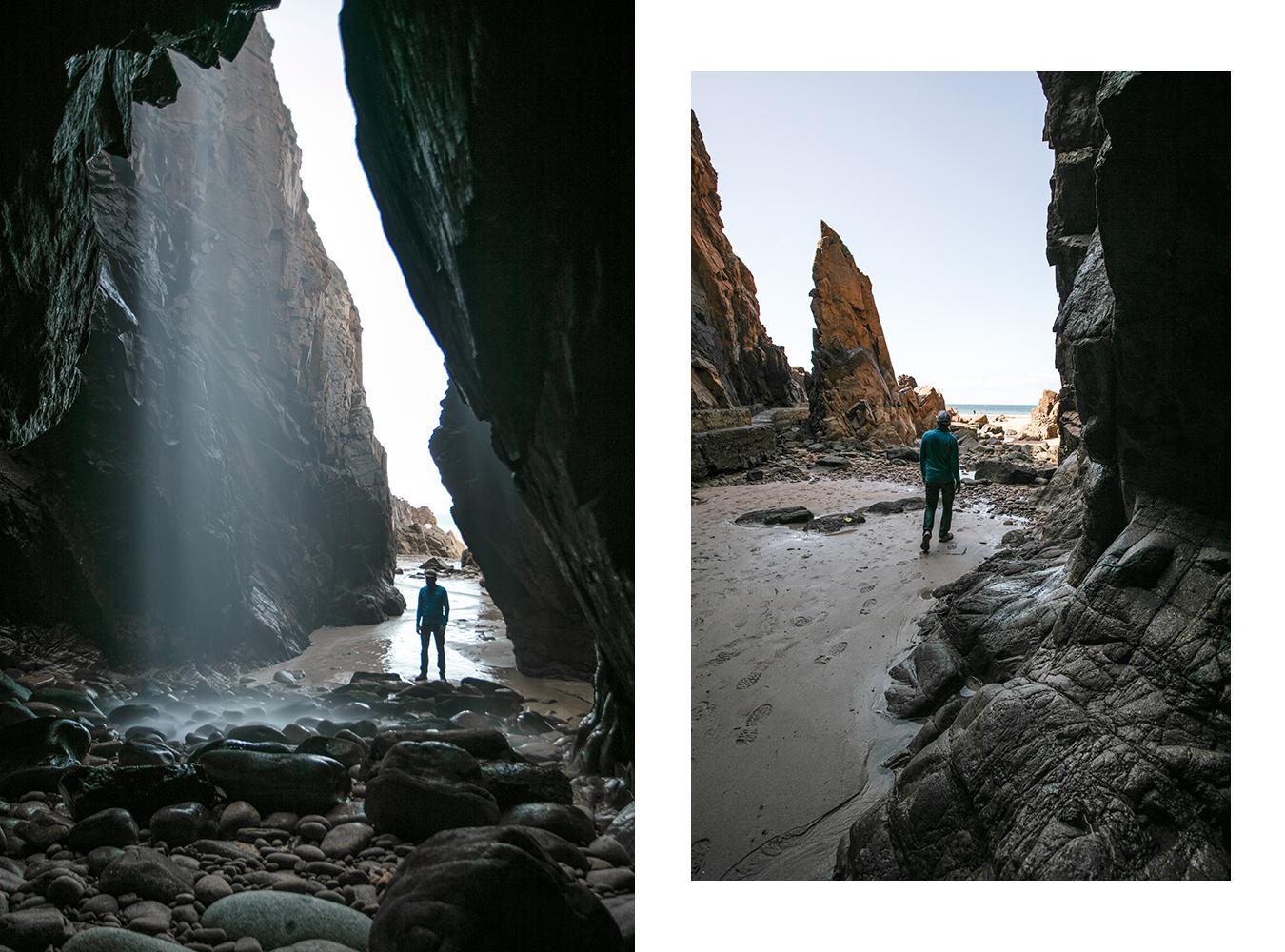 Plemont cave Jersey