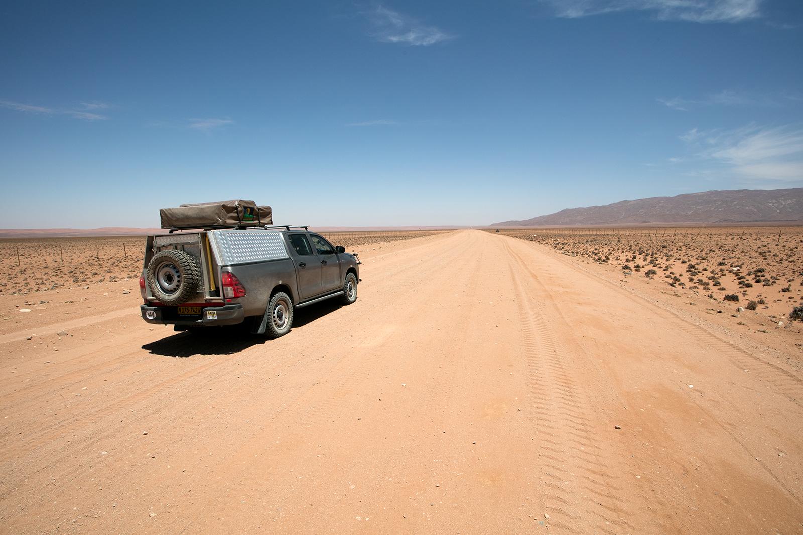 sur la route du namibrand