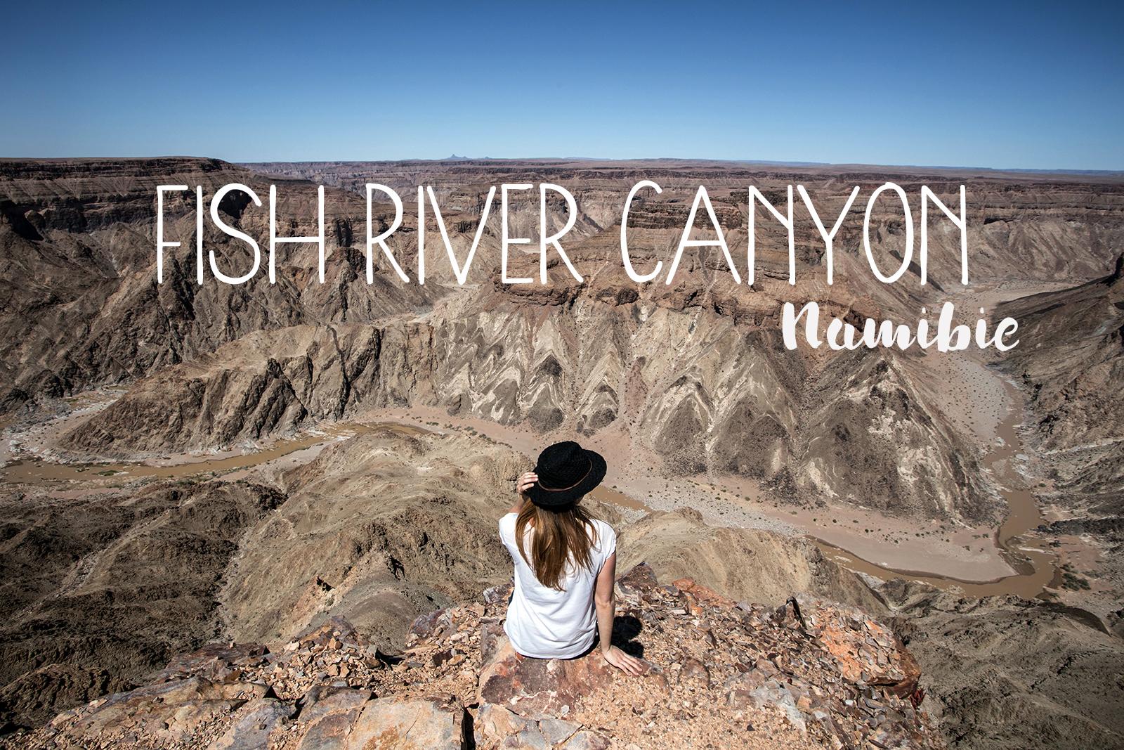 Visiter le canyon de la fish river en Namibie