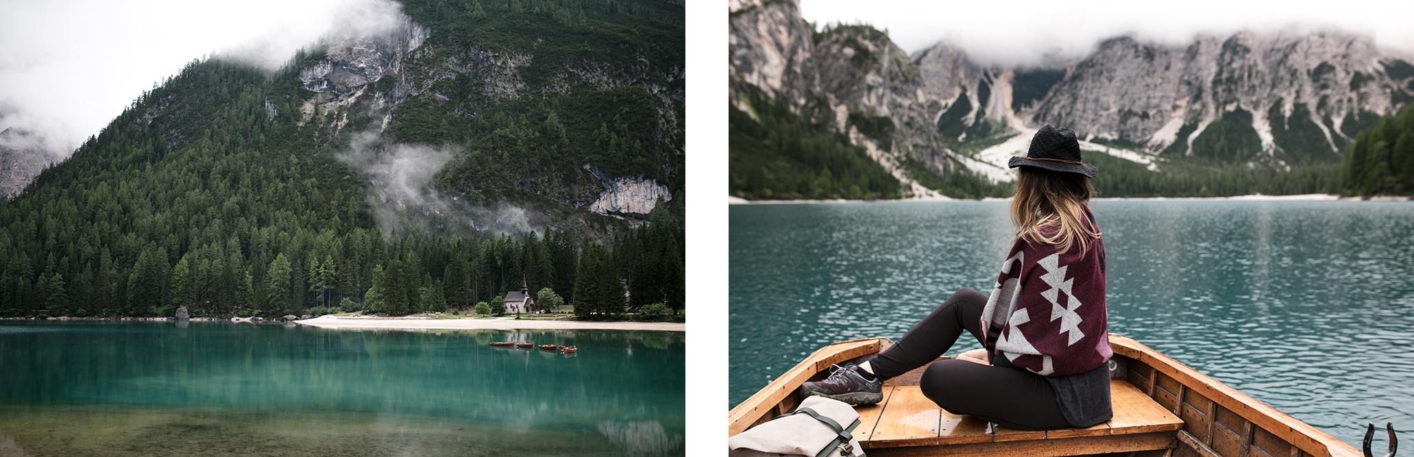 Lago di braies lac