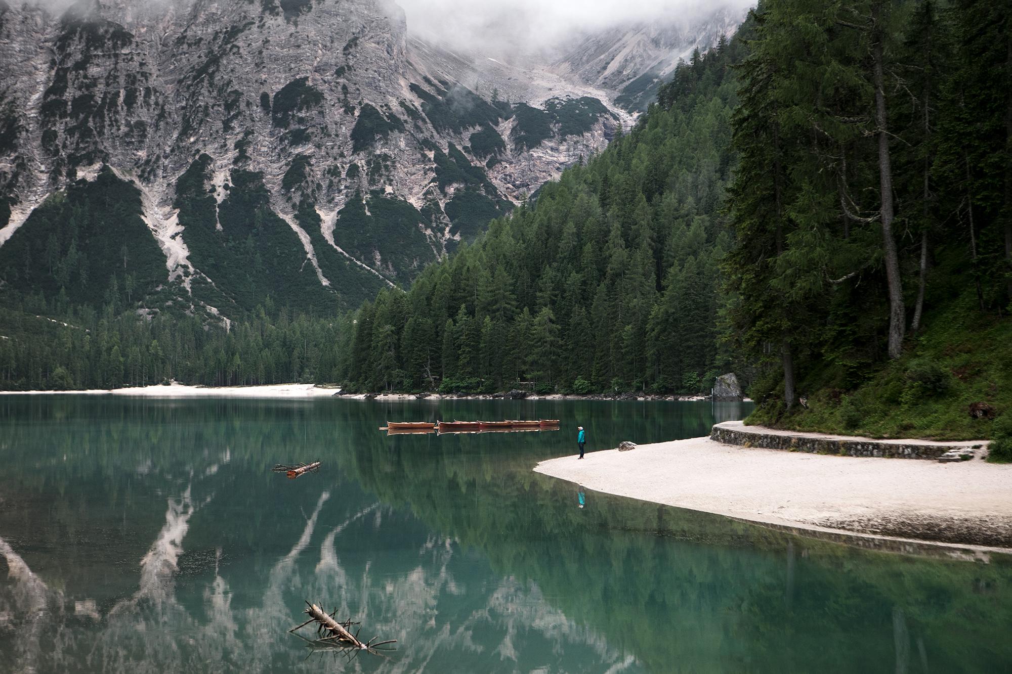 randonnee lago di braies