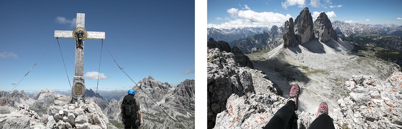 Via ferrata Mont Paterno Dolomites