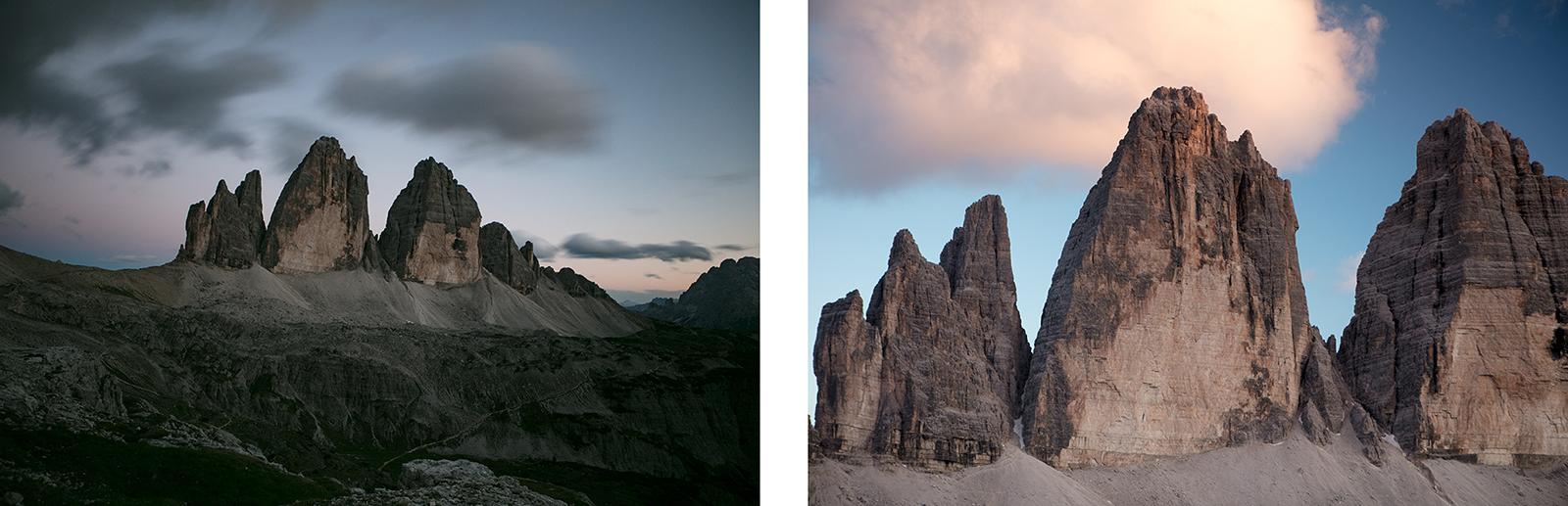 Tre cime di Lavaredo blog voyage