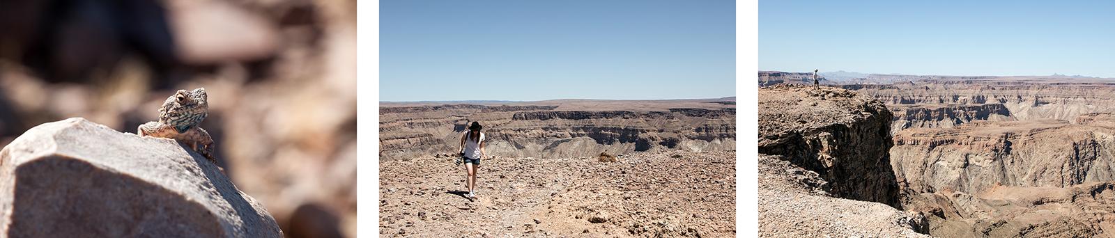 Namibie : randonnée le long du canyon