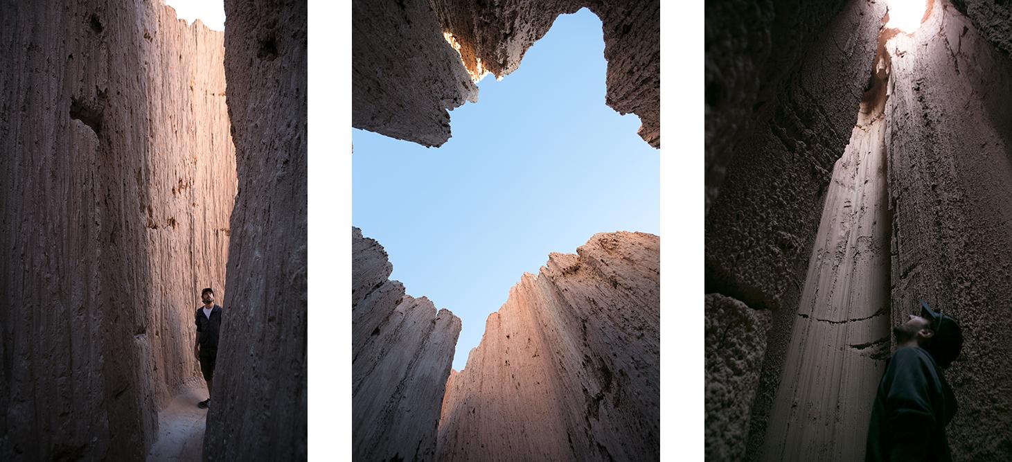 Randonnée à Cathedral Gorge