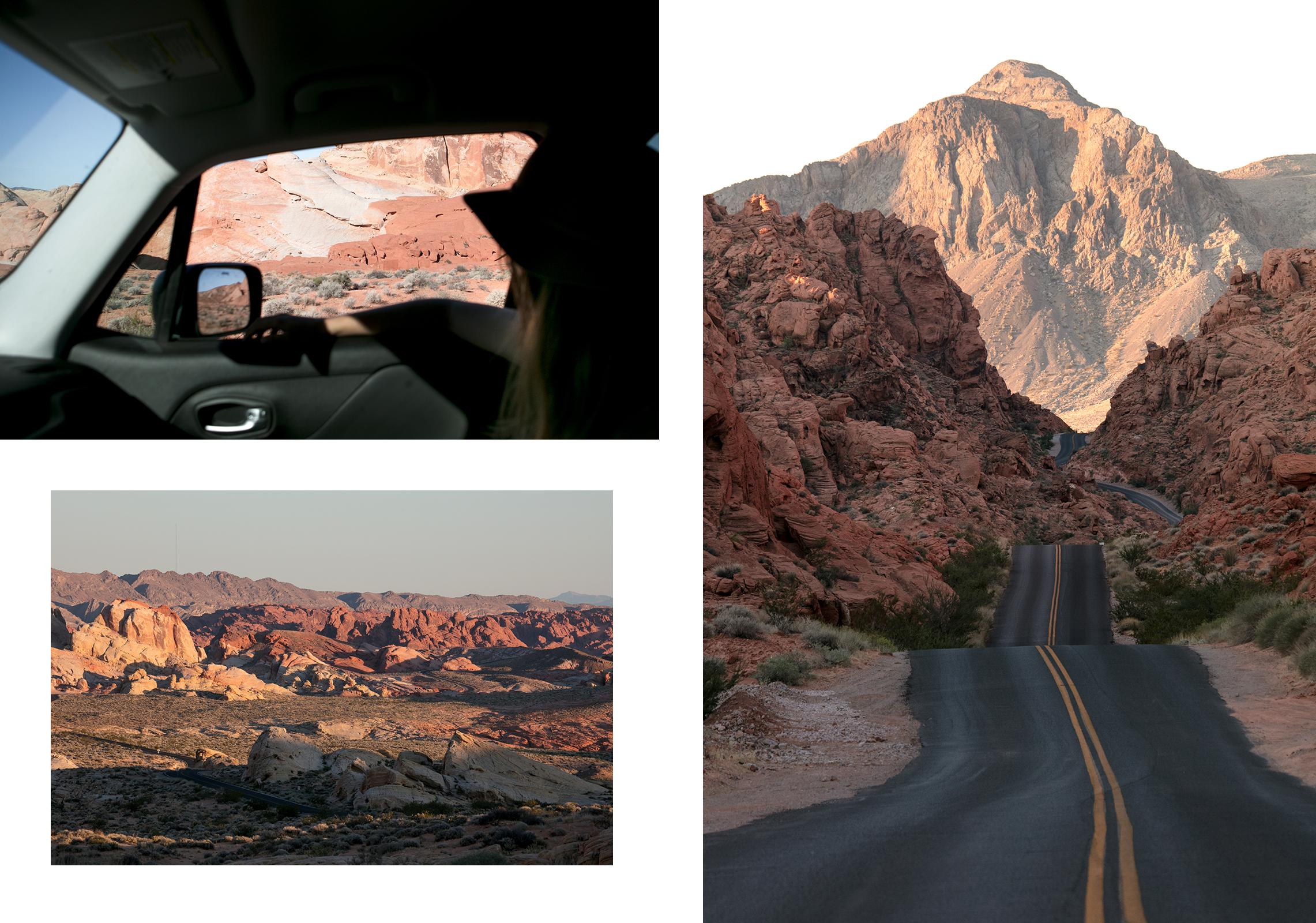 Road-trip dans la vallée du feu