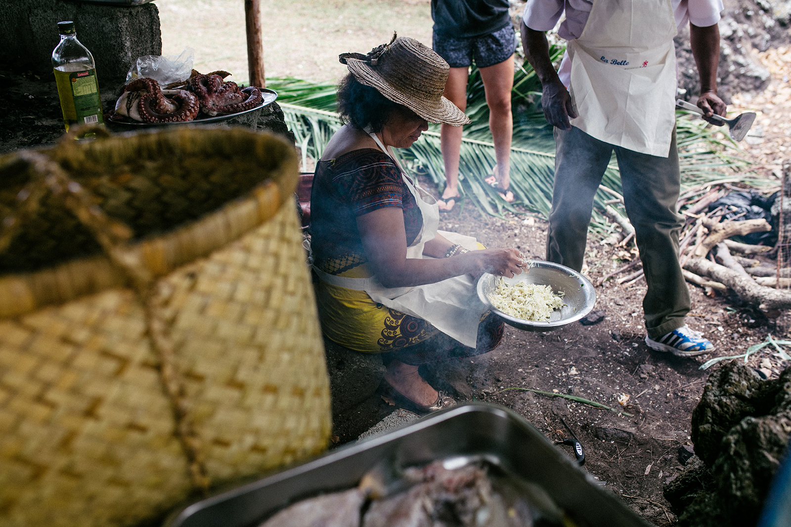 Cours de cuisine dans les îles