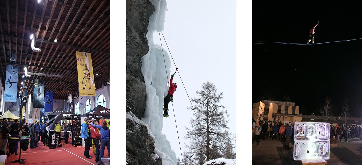 Evenement Cascade de glace et ski de randonnée dans les alpes