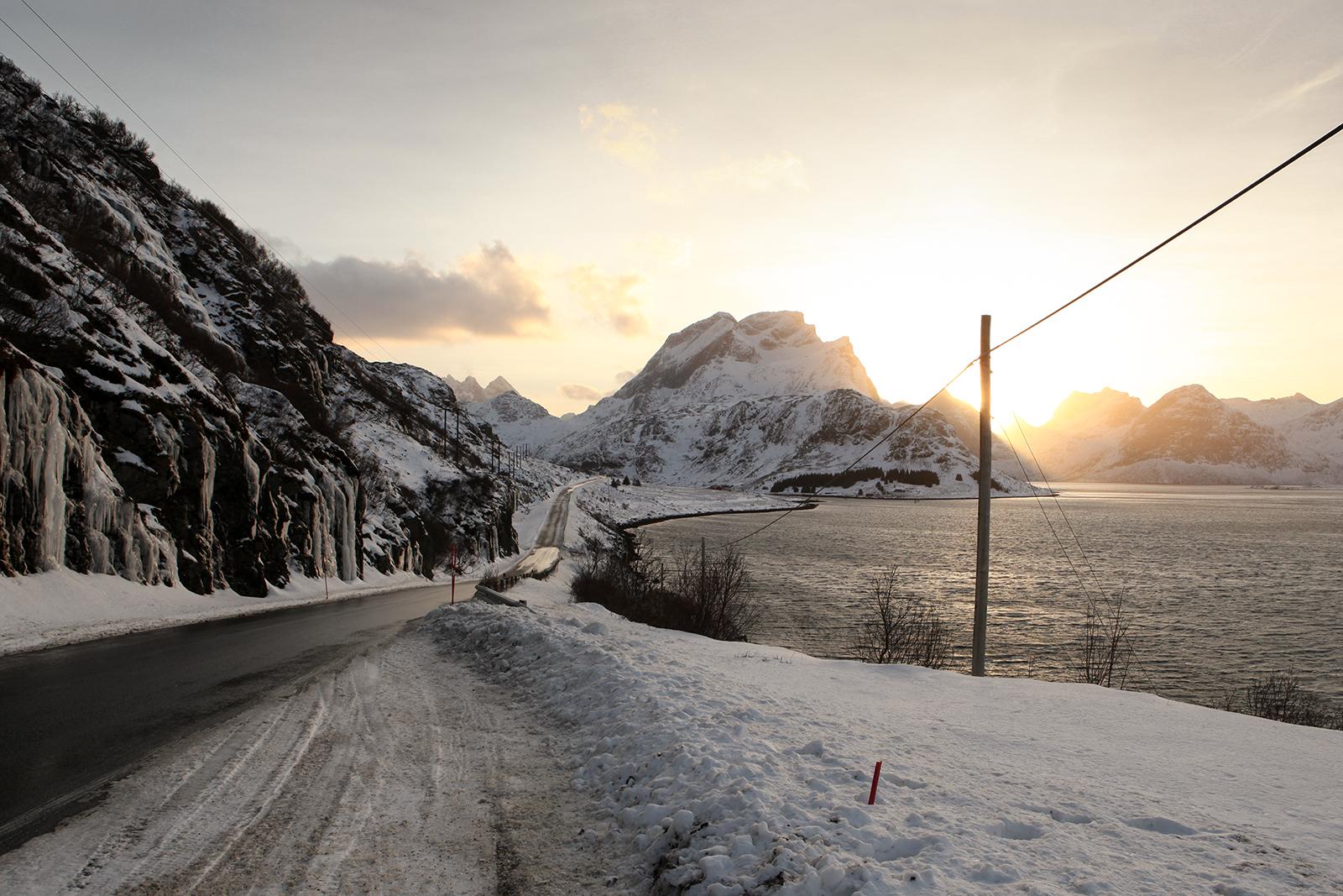Route îles Lofoten