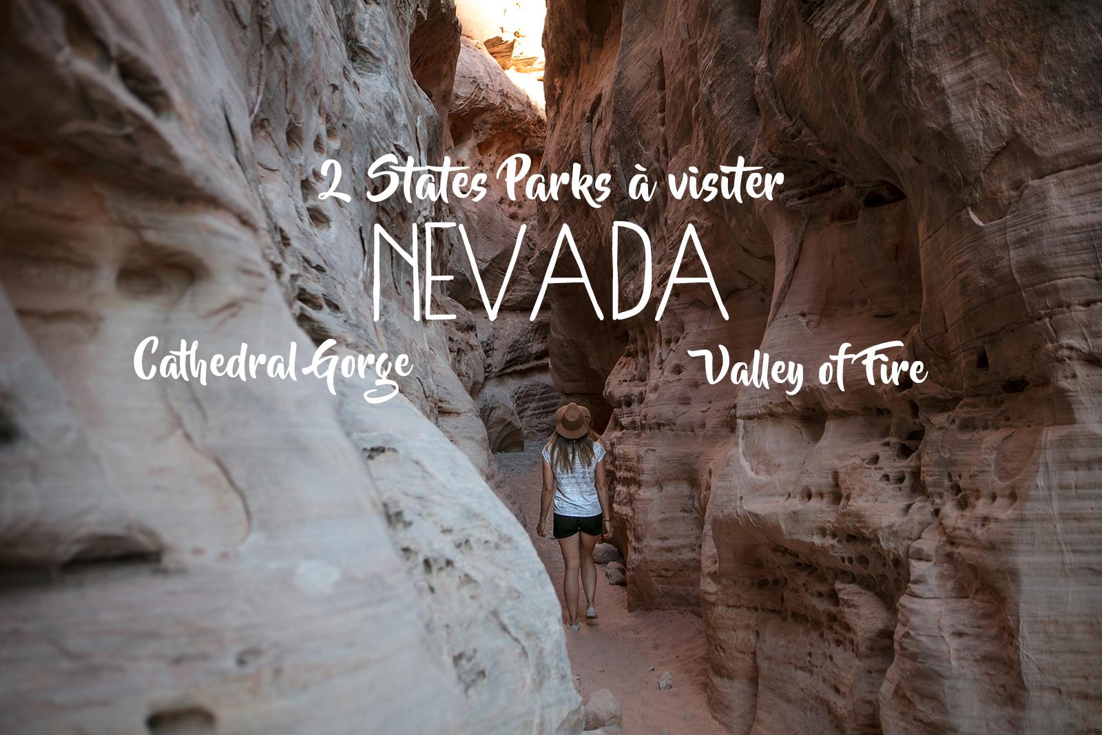 Récit de voyage dans le Nevada aux Etats-Unis, les state parks incontournables