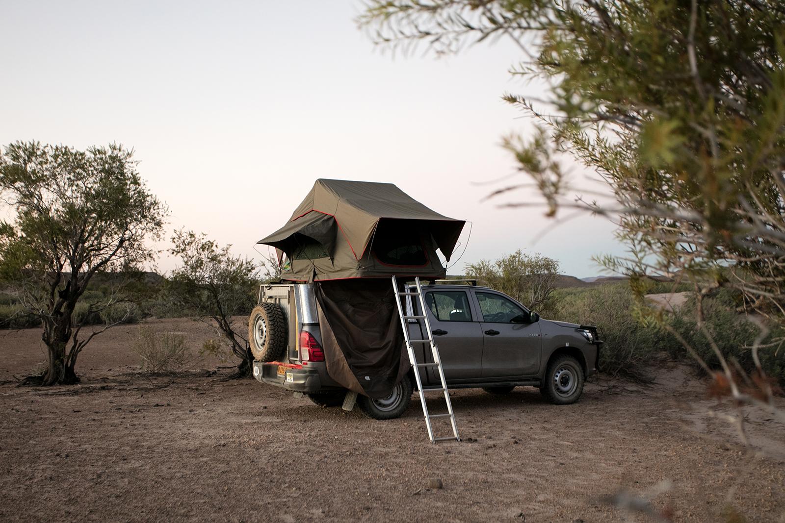quelle agence pour louer un 4x4 avec tente de toit en Namibie
