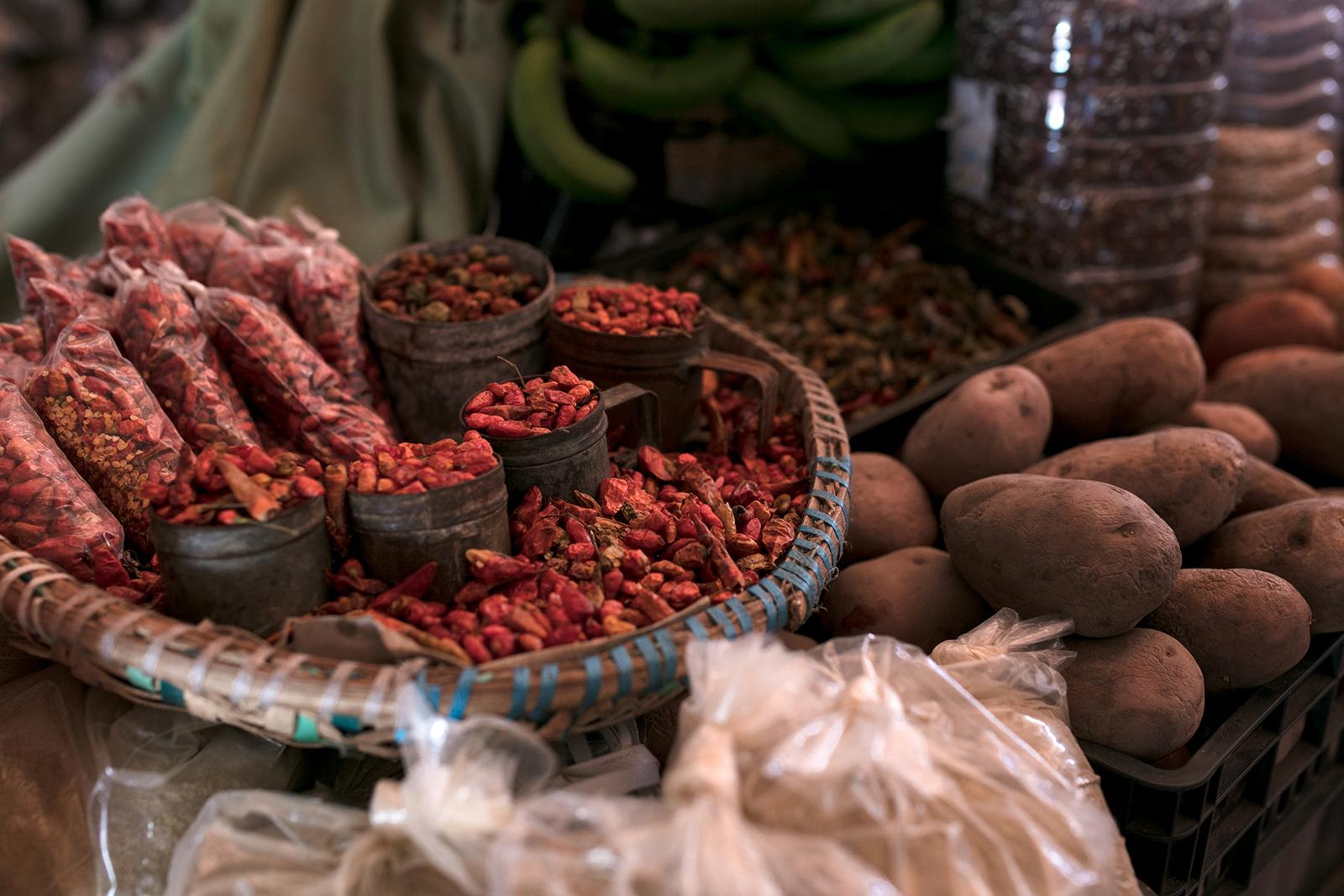 Visiter le marché à Mindelo
