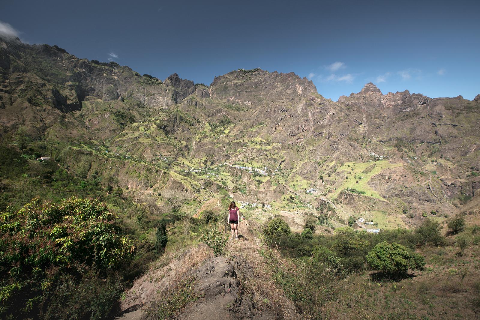 Randonnée à Santo Antao Cap Vert