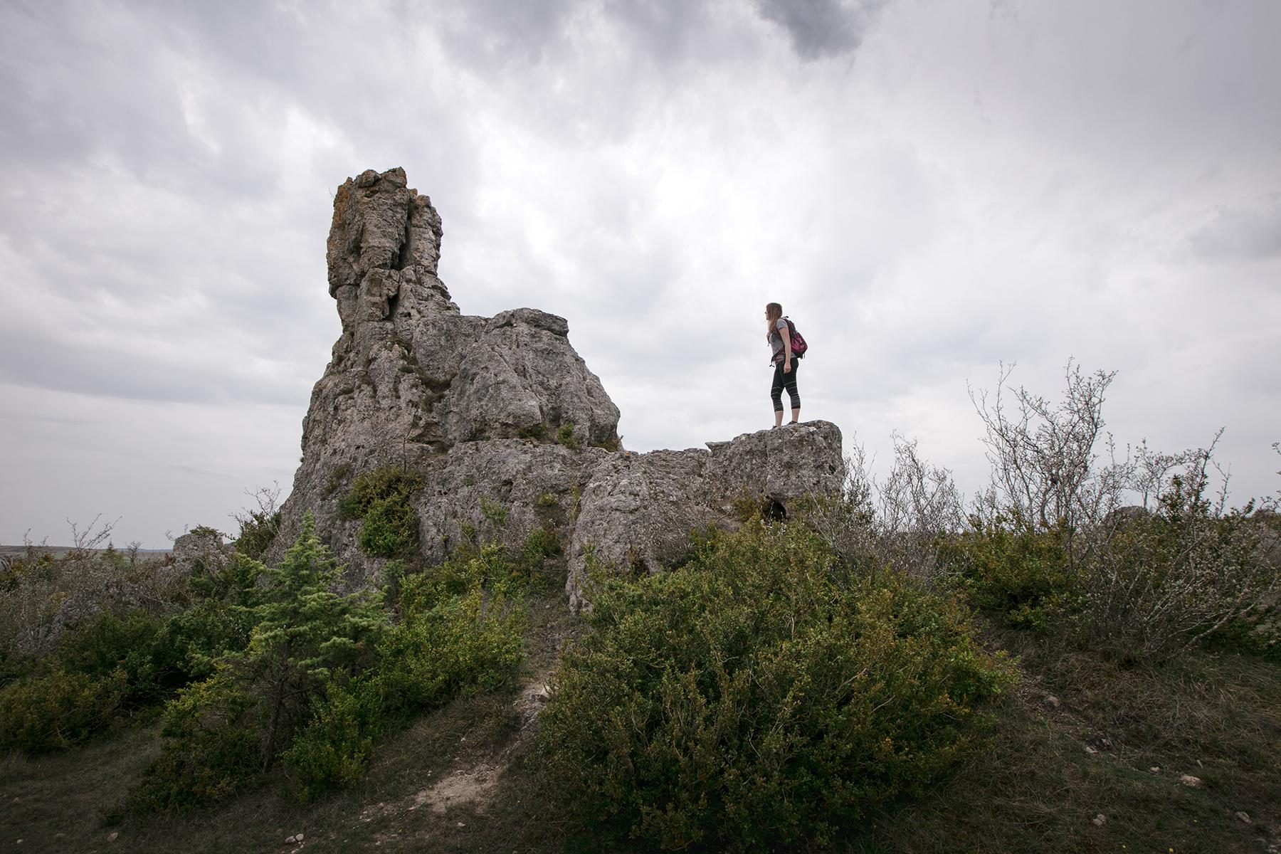 Randonnée sur le Causse du Larzac