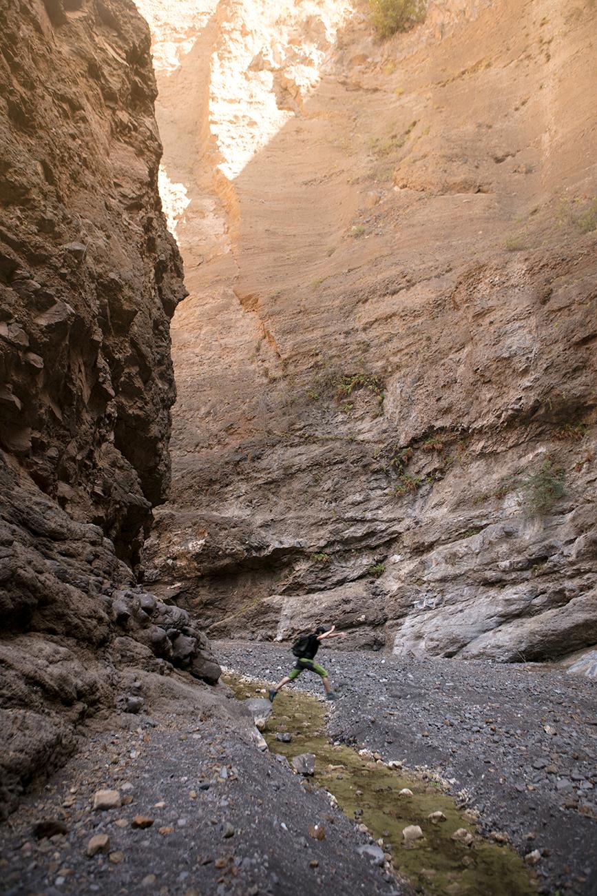 Canyon sur l'île de Santo Antao