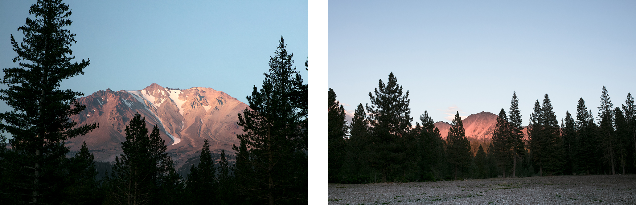 les plus beaux paysages du parc volcanique de lassen