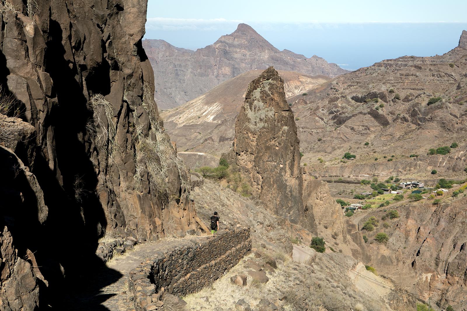 Trek dans la vallée de Cha da Morto
