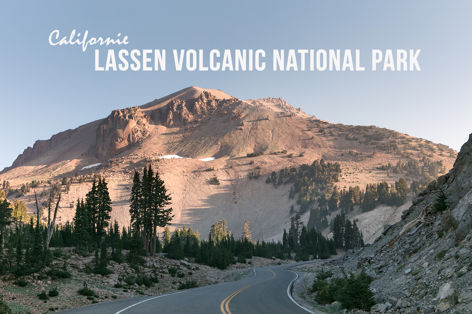 Parc national de Lassen volcanic en Californie