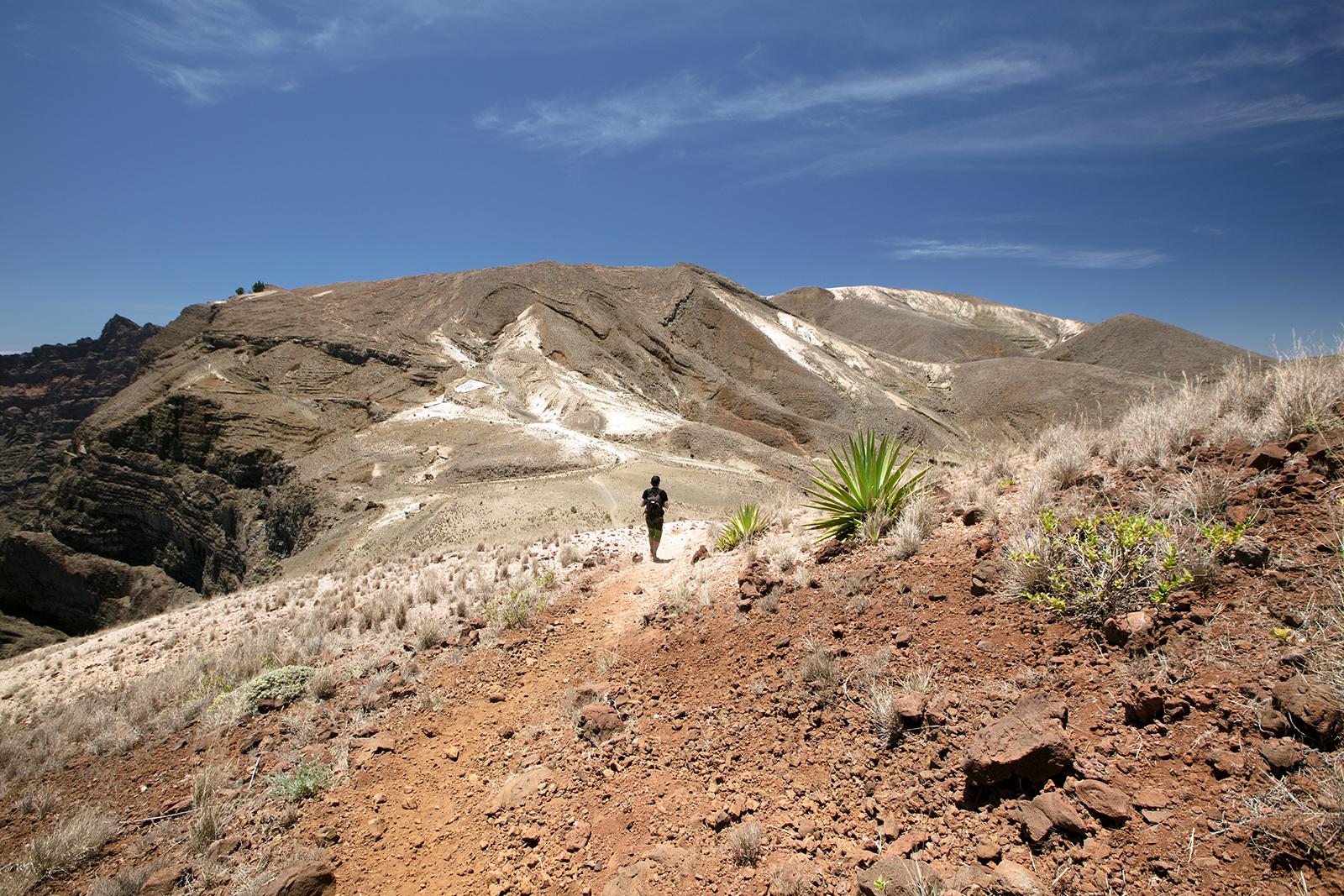 Paysages volcaniques de Santo Antao