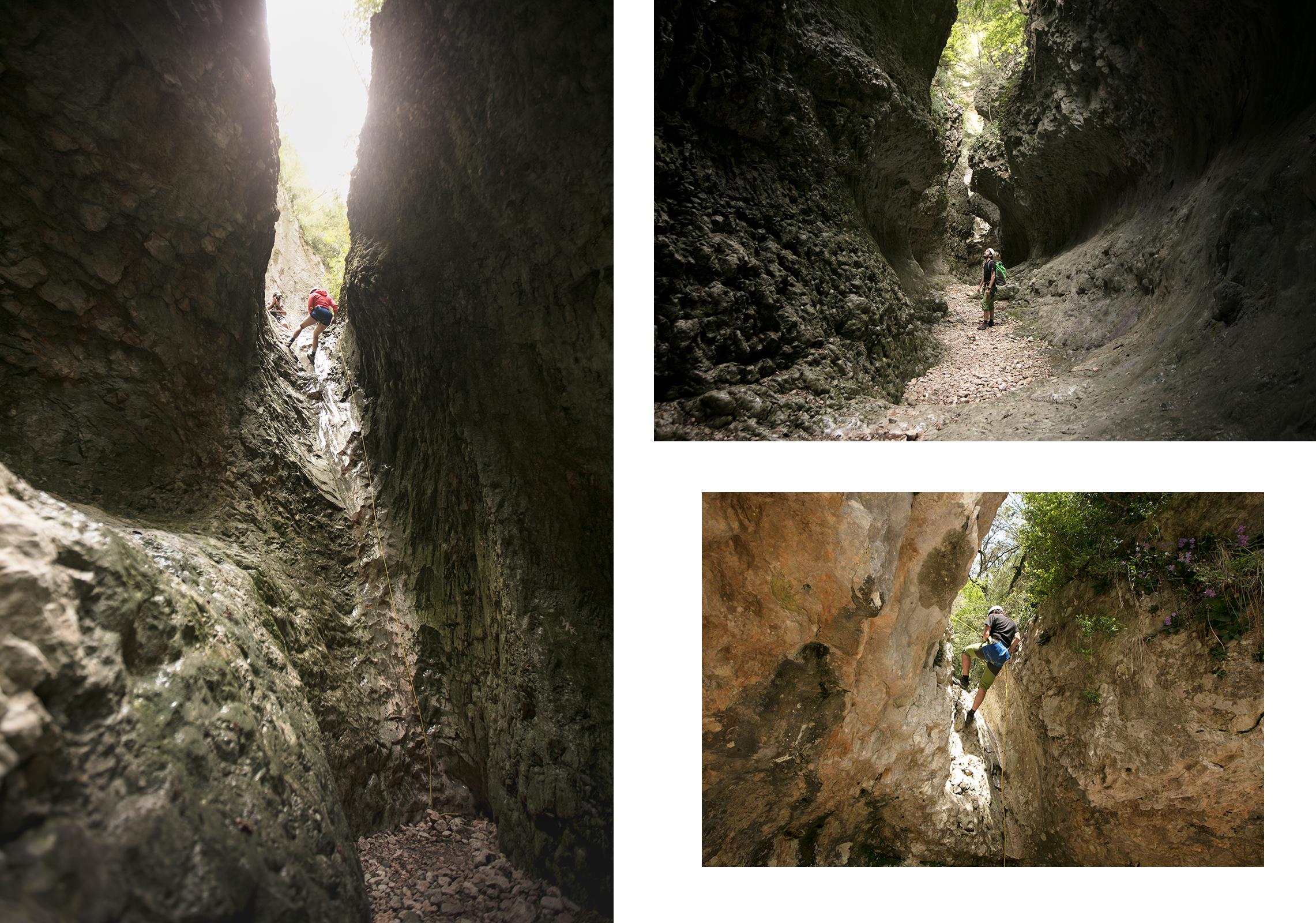 Palomeras de Fornocal, le slot canyon de la Sierra de Guara