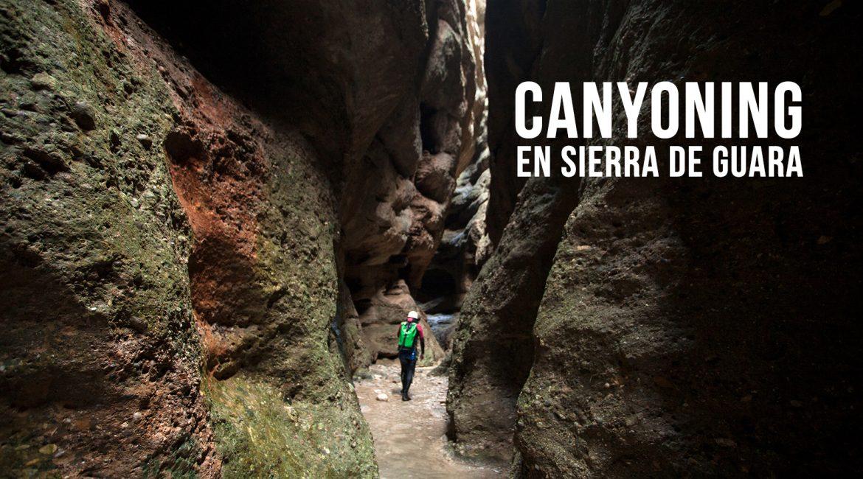 Espagne : canyoning en Sierra de Guara