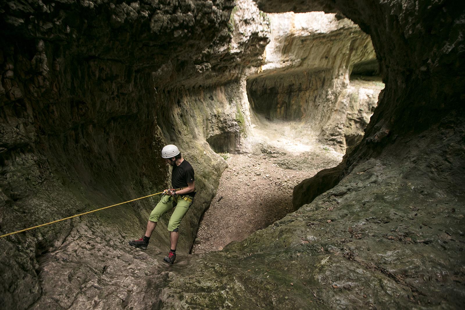 Canyoning en Sierra de Guara - Bassender