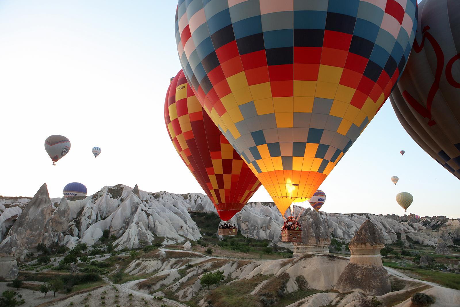 Quelle agence pour un vol en montgolfière en Cappadoce ?