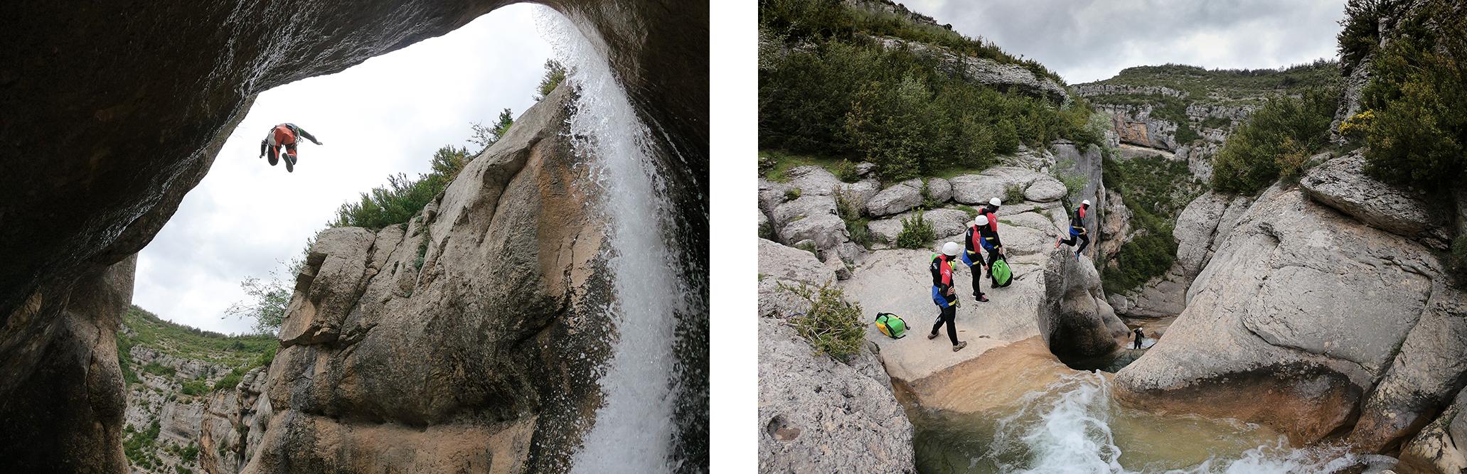 Canyoning Sierra de Guara Espagne