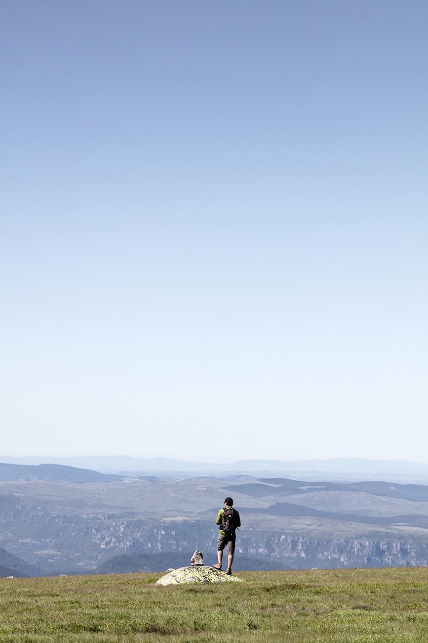 randonnée au mont Lozère