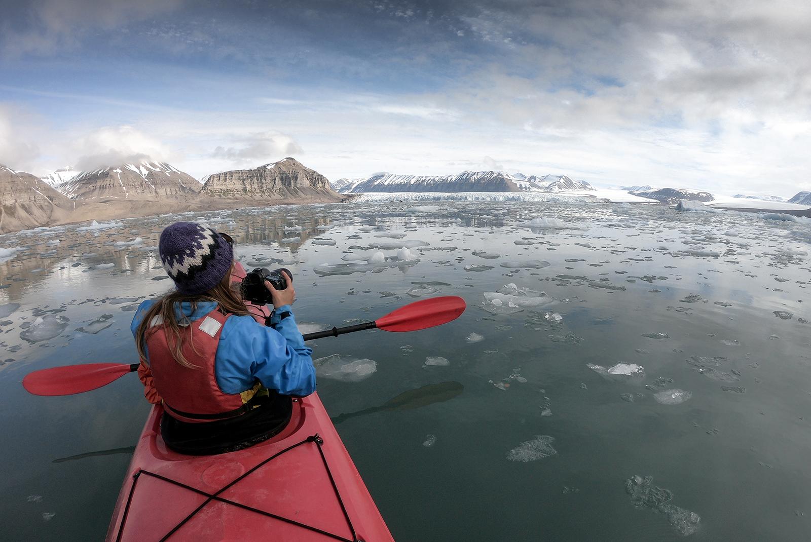 kayak-mer-spitzberg
