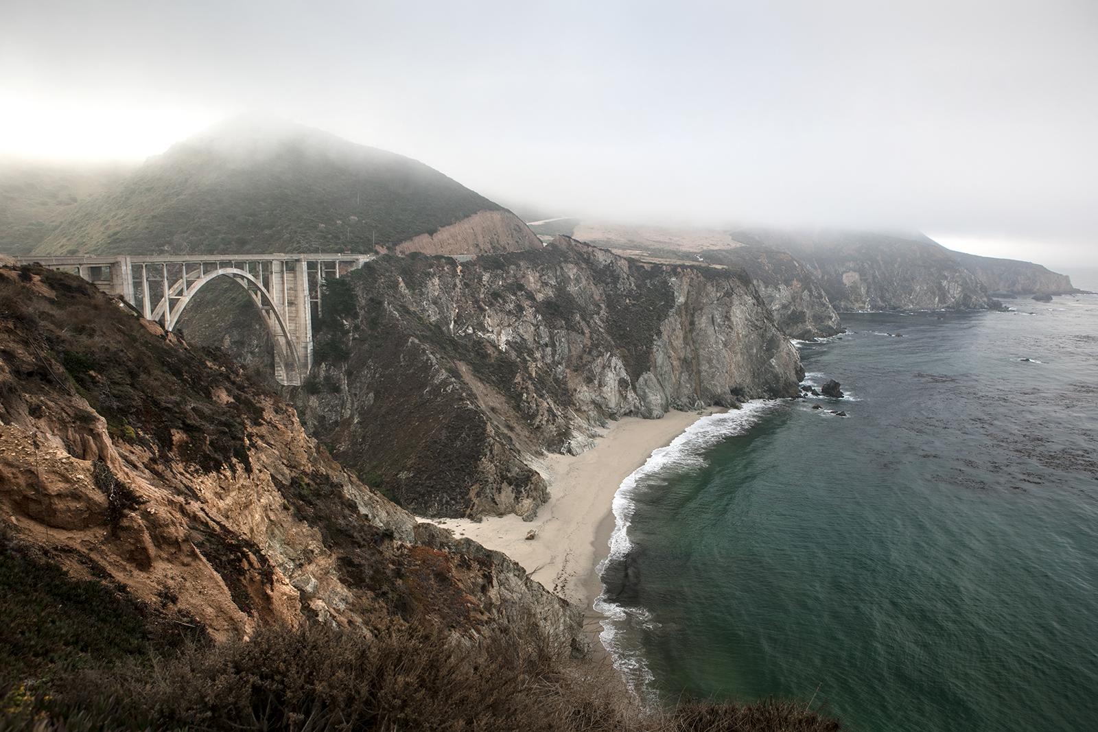 Road trip highway 1 Californie