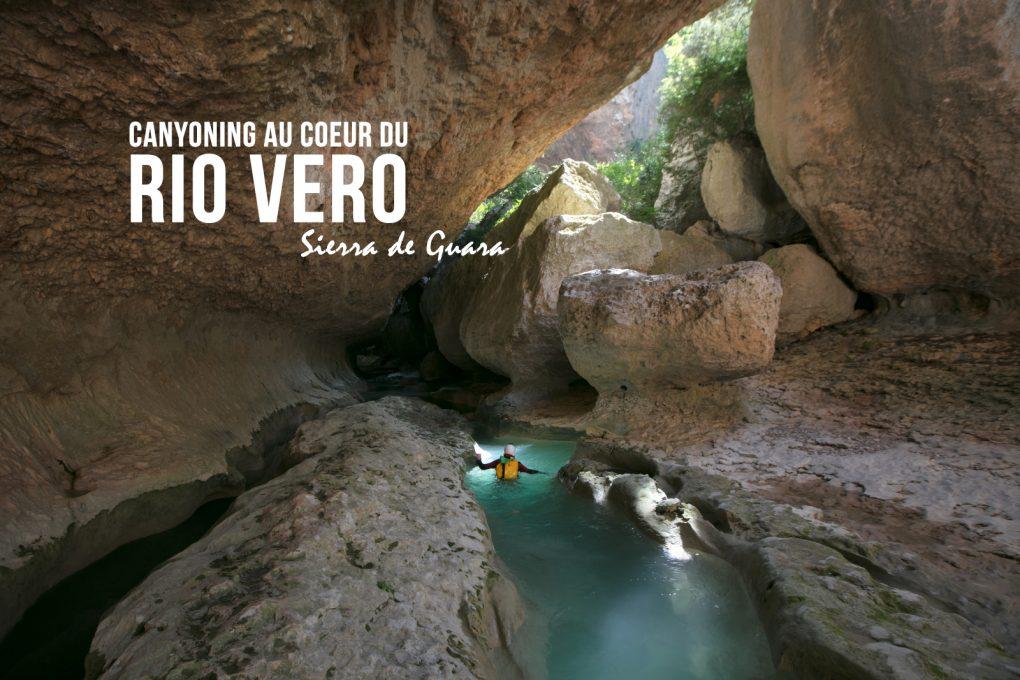 Canyoning Rio Vero, Sierra de Guara