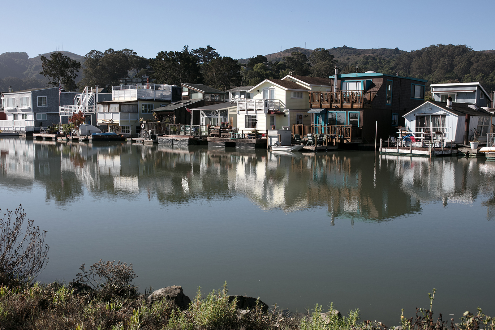Visiter Sausalito et les house boats