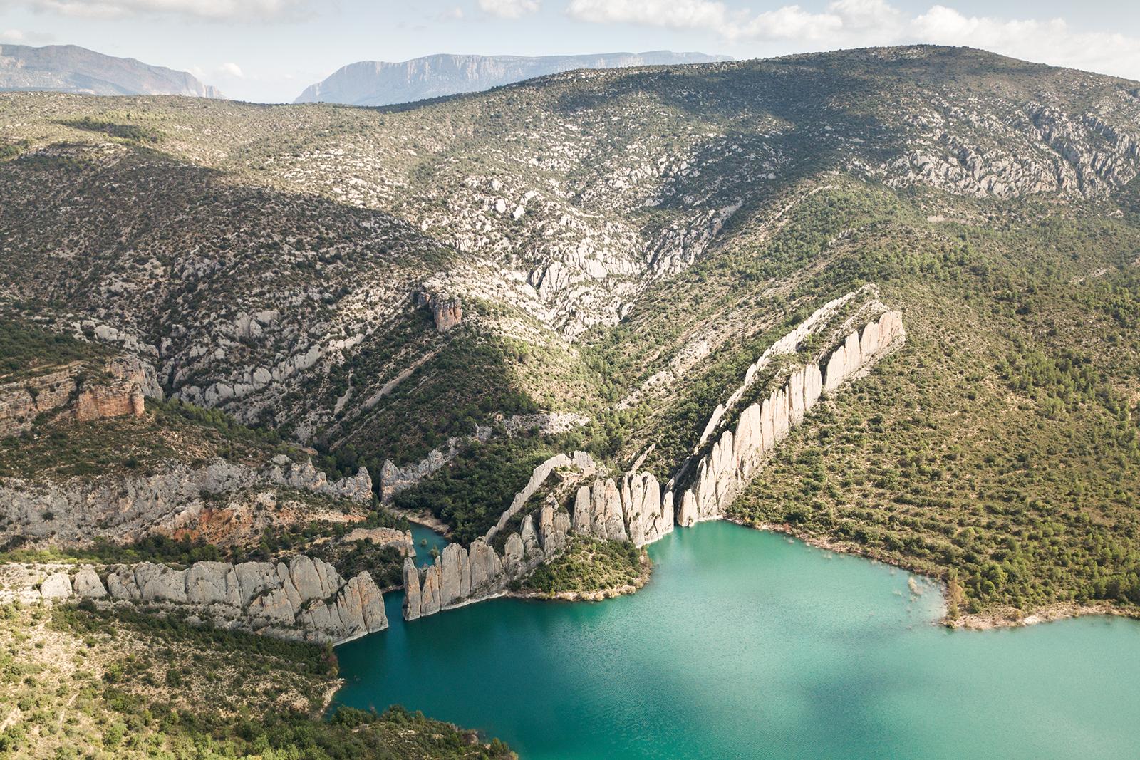 Randonnée en Aragon, les murallas de finestras