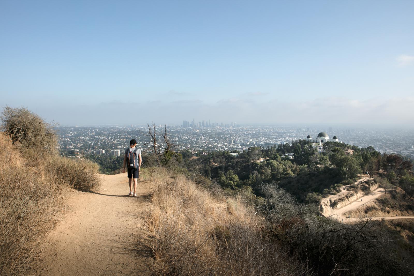 Randonner à Los Angeles