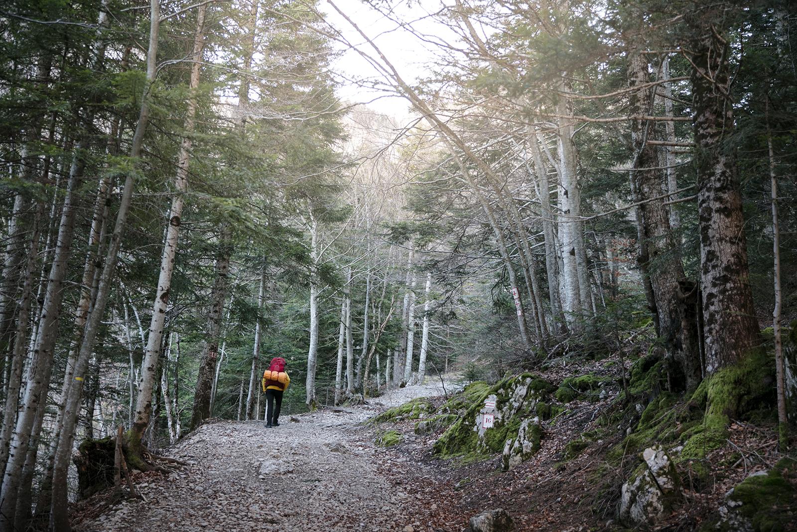 Le Vercors en hiver : bivouac au Pas de l'Aiguille