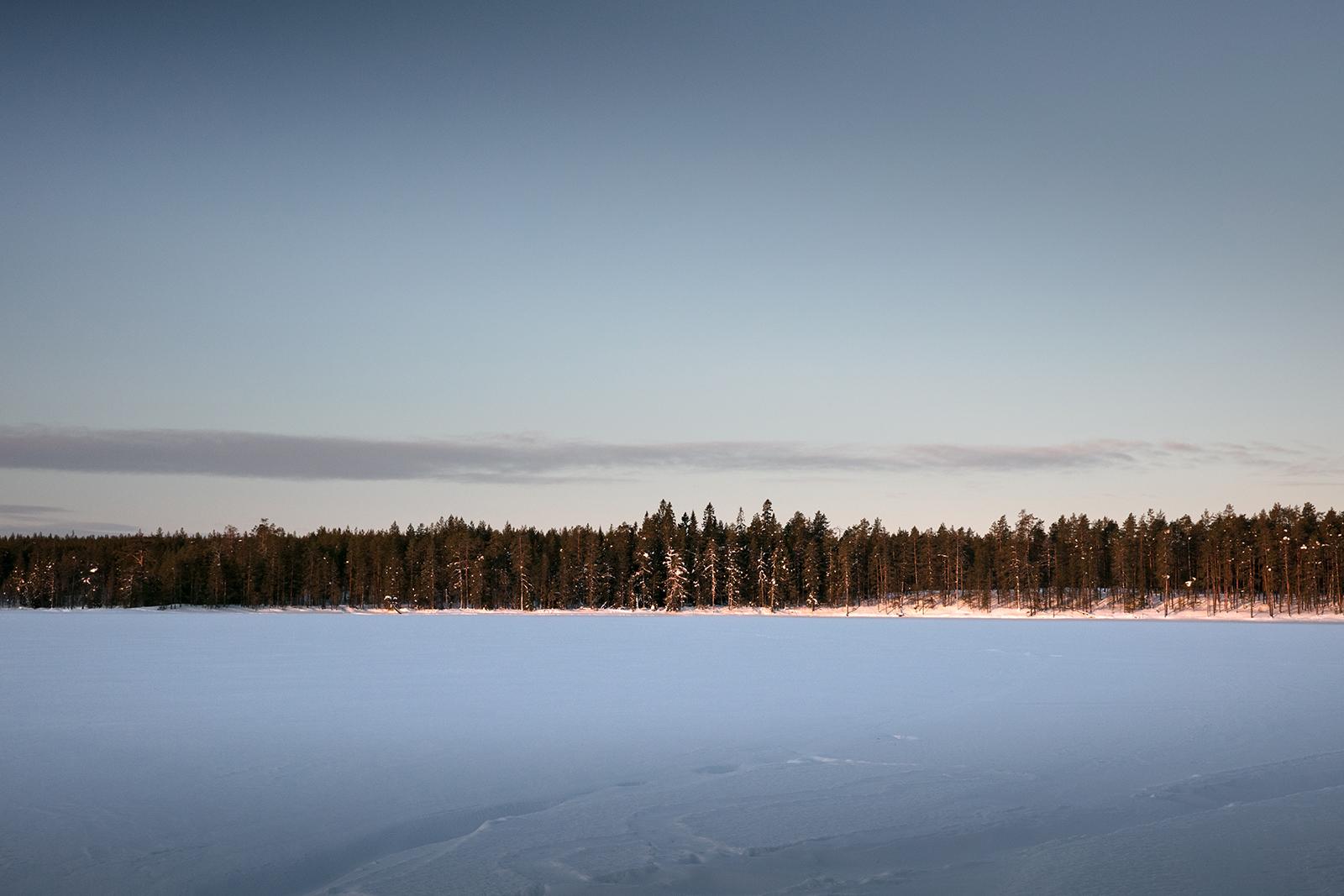 Parc national d'Hossa en hiver