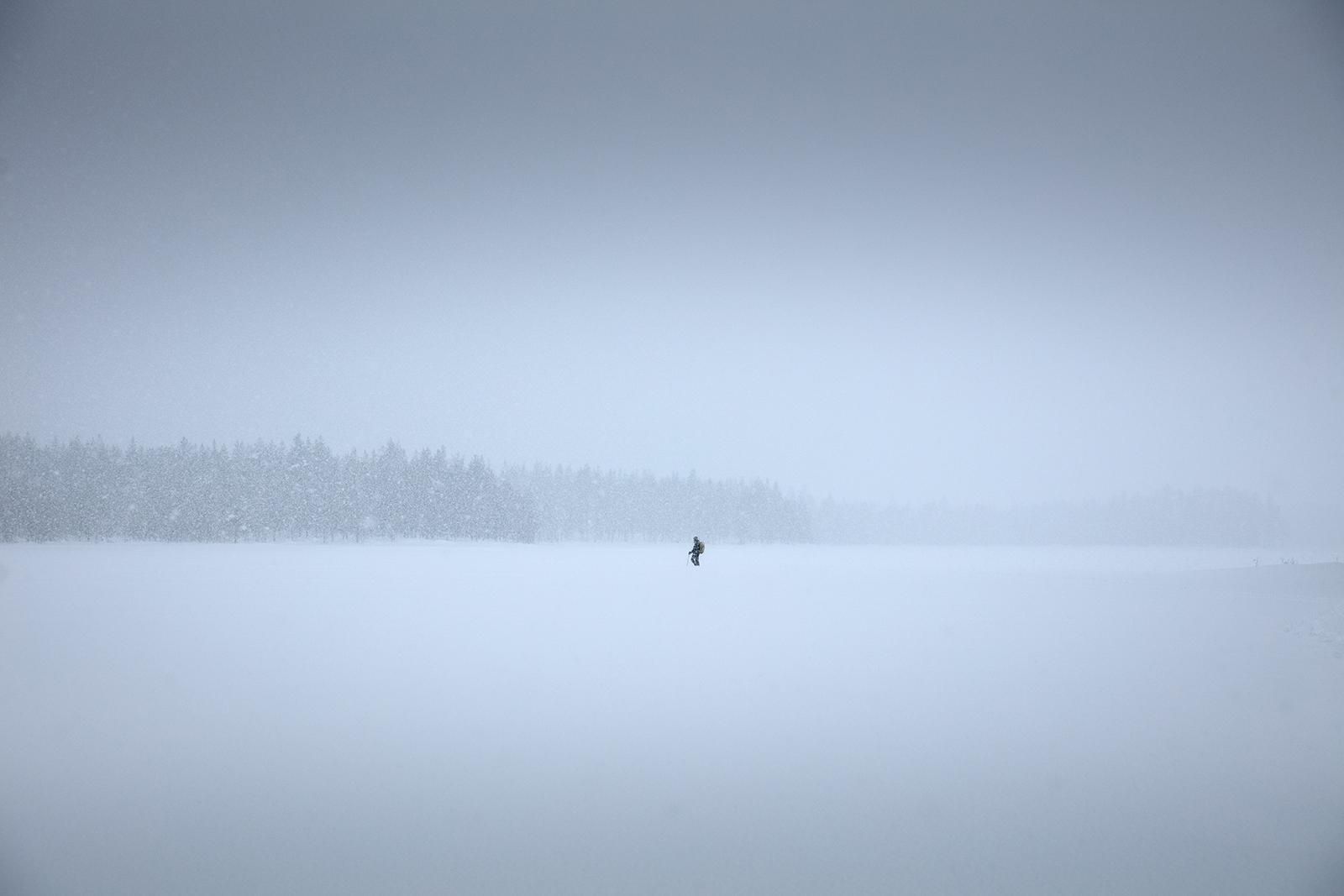 blizzard en Finlande