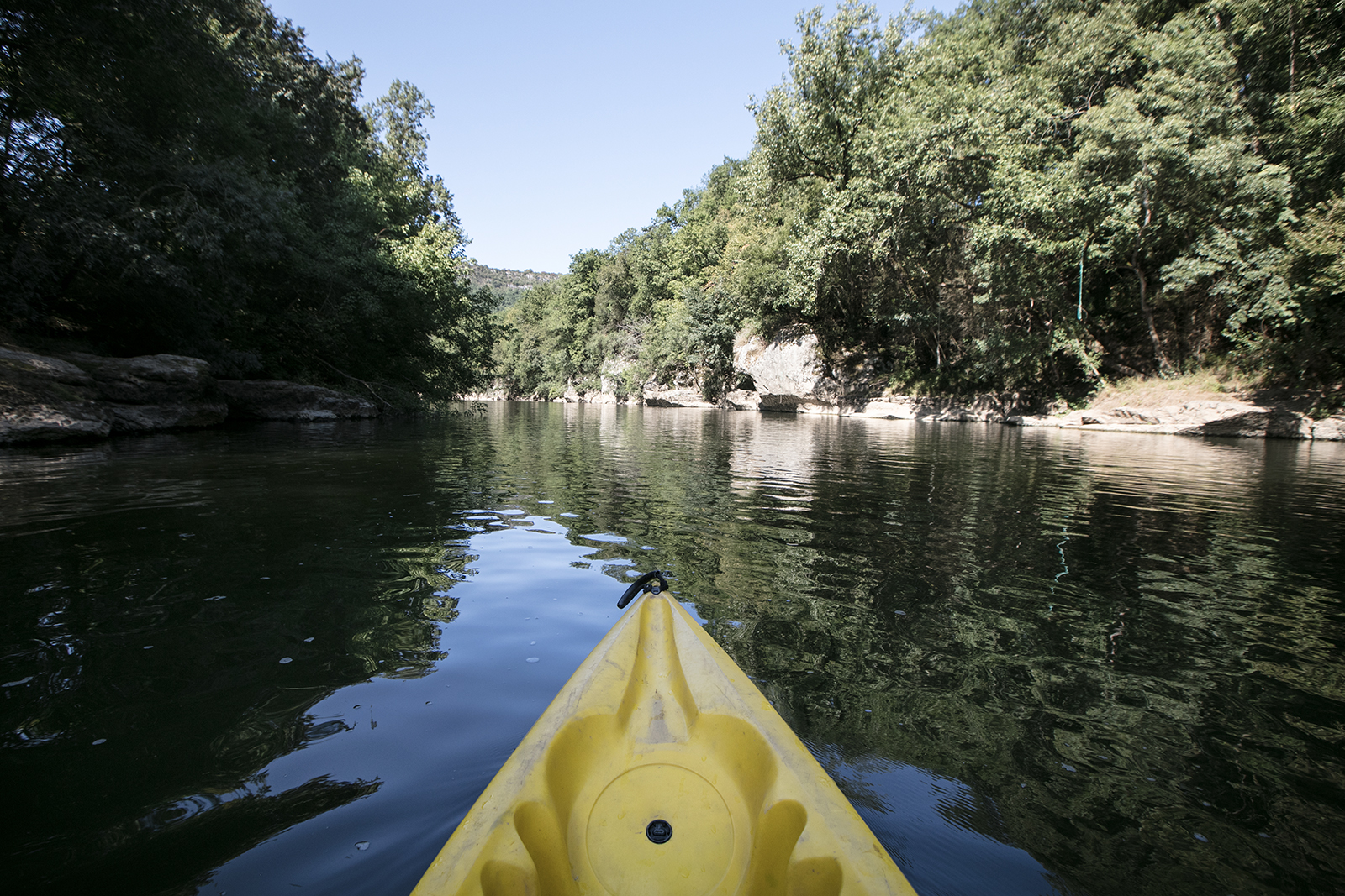 Faire du canoe Kayak dans le Tarn